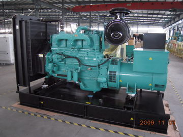 China Dieselgenerator 125kva 100kw Cummins mit Aufladungs-Generator der Batterie-24V fournisseur